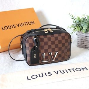 Louis Vuitton Santa Monica Damier Ebene Camera Bag